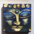 Buddha Squared Triptych