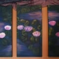 Lotus Pond Triptych