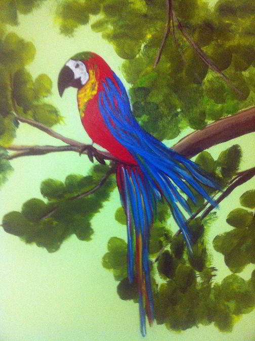 Parrot on Branch