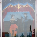 Stampede Saloon Window Painting