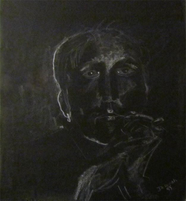 Man Thinking Portrait