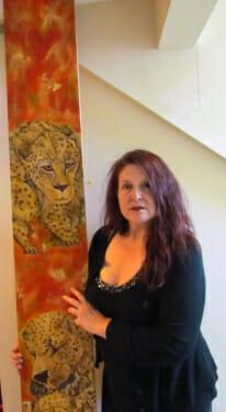 Leopard Mural