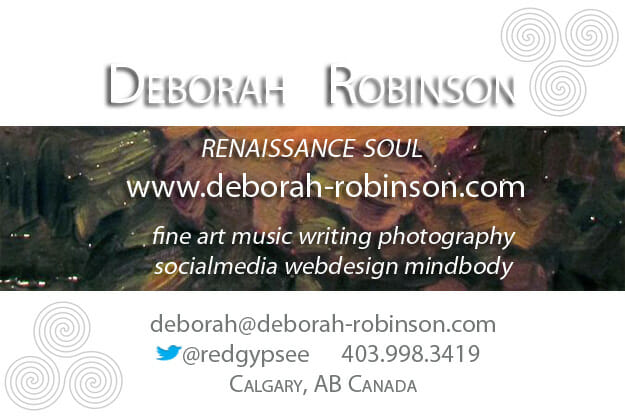 connect with deborah robinson