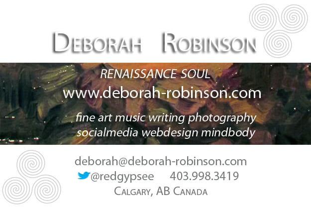connect with deborah robinson