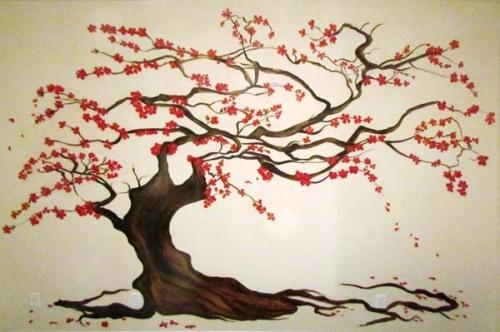 cherry-blossom-tree-mural