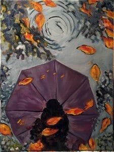 purple-umbrella-oil-painting
