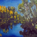 Bowness Lagoon Sunset
