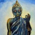 Blue Healing Buddha