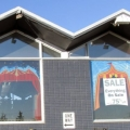 Circus Tent Mural Triptych