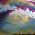Rainbow Mural