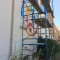 st-matts-mural-scaffolding