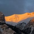 Morning Mountain Glow