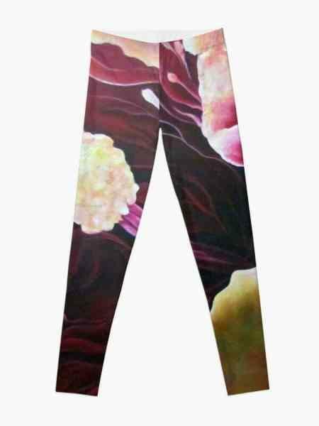 Wearable Art Leggings Front