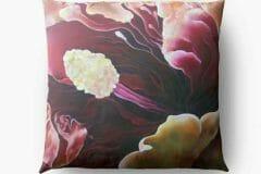 Fine Art Floor Pillow Closeup