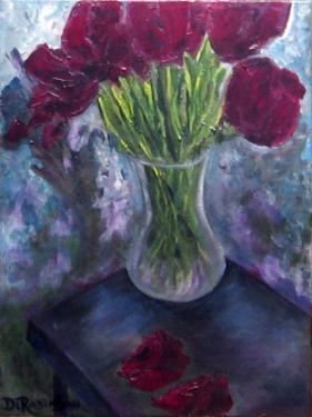 tulip knife painting