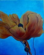 extravagance poppy painting