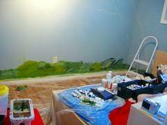 mural beginnings