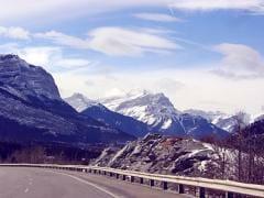 mountain road trip