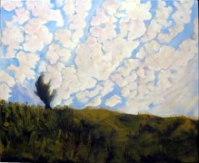 Both Sides Now Cloud Painting