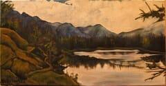 Johnson Lake Painting