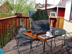 Backyard Plein Air