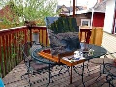 Backyard Plein Air