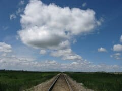 clouds tracks