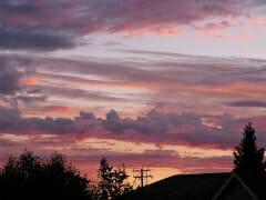 Red Sky Morning