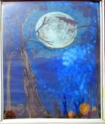 moon-tree window
