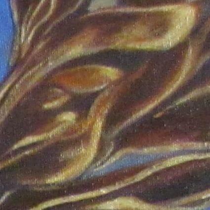 eagle painting closeup