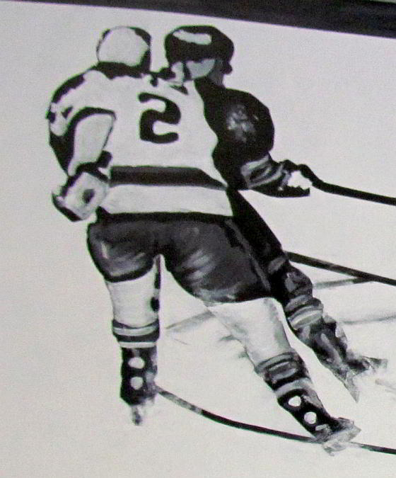 hockey mural action