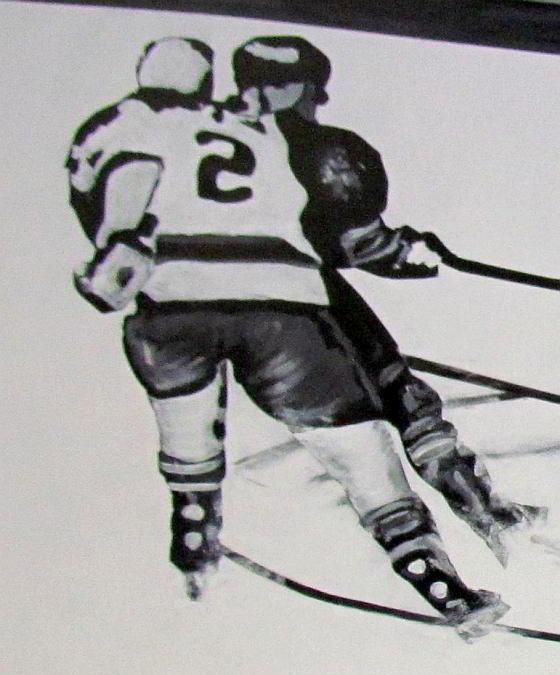 hockey mural action