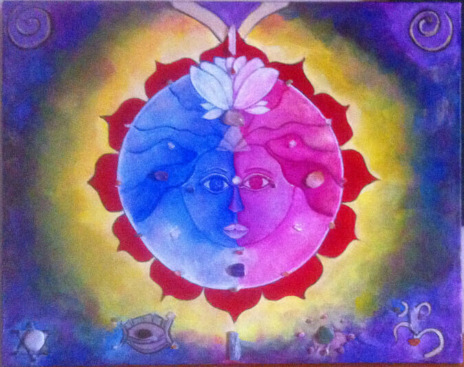 healing painting