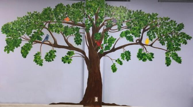 Summer Mural Painting Complete