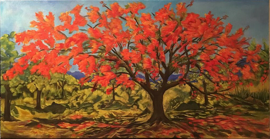 flamboyant-tree-commissioned-painting